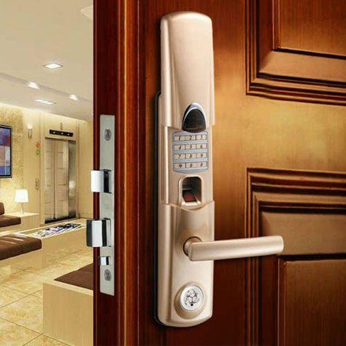 Using Thumbprint Door Lock for Your House #Outdoor