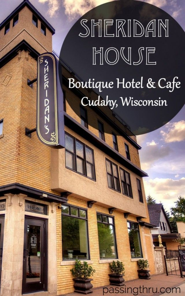 Sheridan House Boutique Hotel and Caf