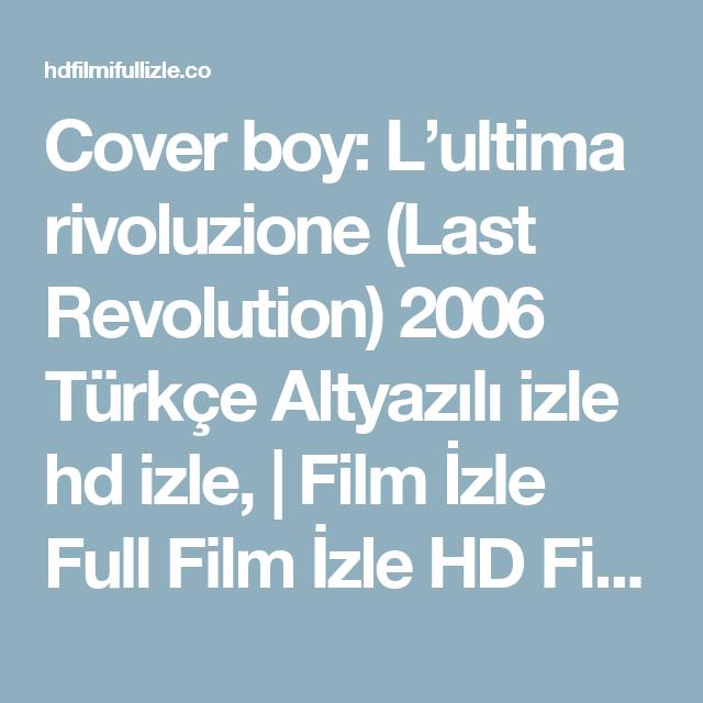 Cover boy lultima rivoluzione   IFFR
