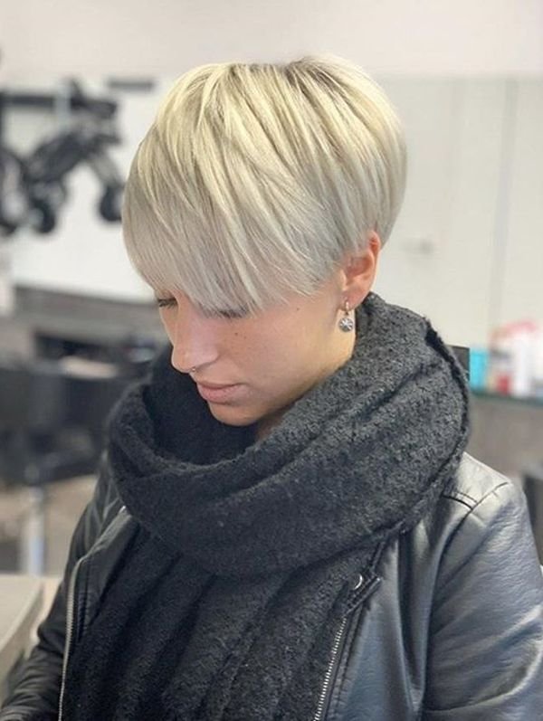 Most Beautiful Pixie Haircut Styles for Women to Follow in 2019 #longpixiehaircuts