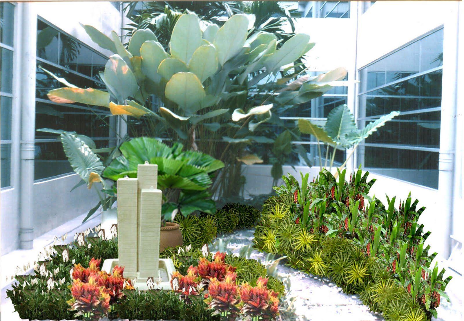 We have been providing interior landscape design services since