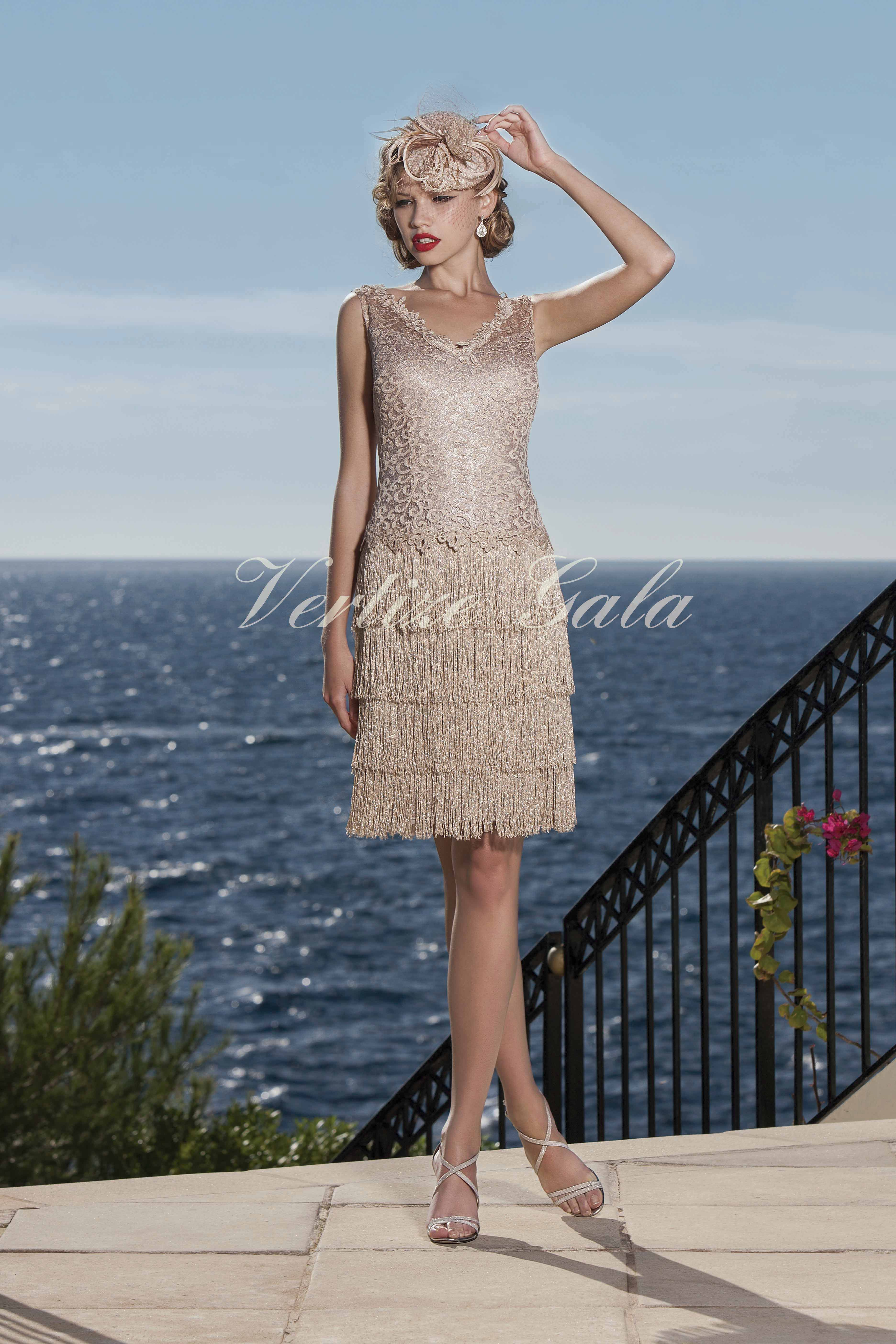 Vertize gala vestidos de fiesta cortos