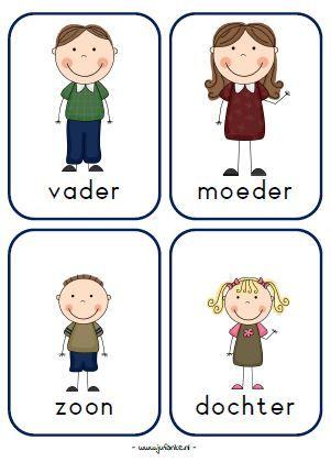 Bekend rollenkaarten spel kleuters huishoek | Groep3 | Pinterest - School &GM95