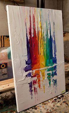 Sailboats Abstract Print, Abstract Painting, Wall