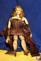 Antique Handmade  Showgirl Marionettes