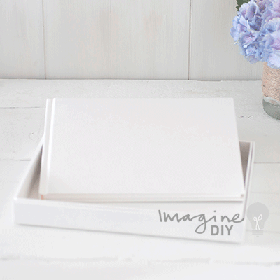Blank Wedding Guest Books. Only £14.99 each (including box). Add ...