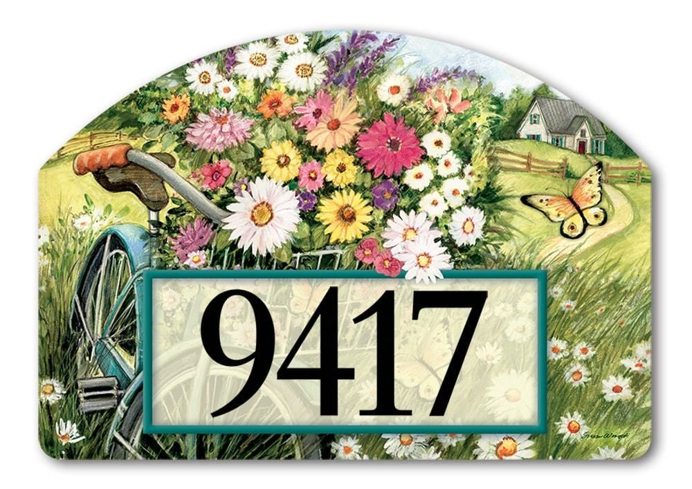 Yard DeSigns Address Signs Are Decorative Magnetic Plaques