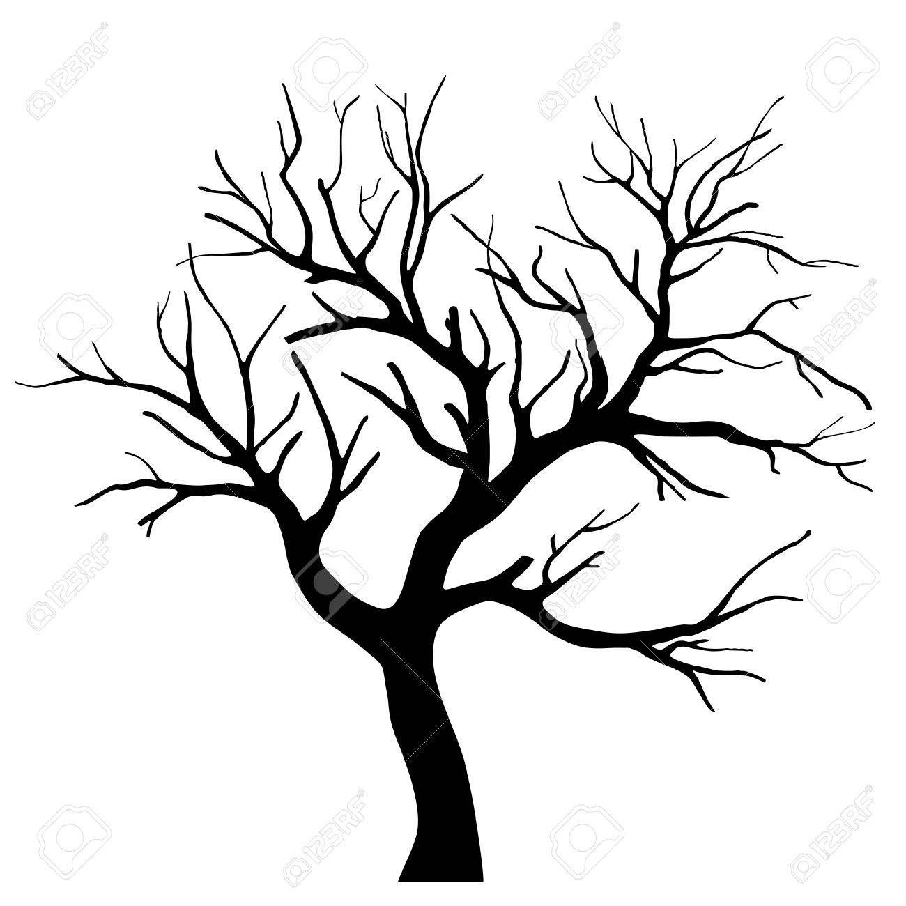Tree Silhouette Affiliate Tree Silhouette Baume Zeichnen Baum Umriss Scherenschnitt Baum