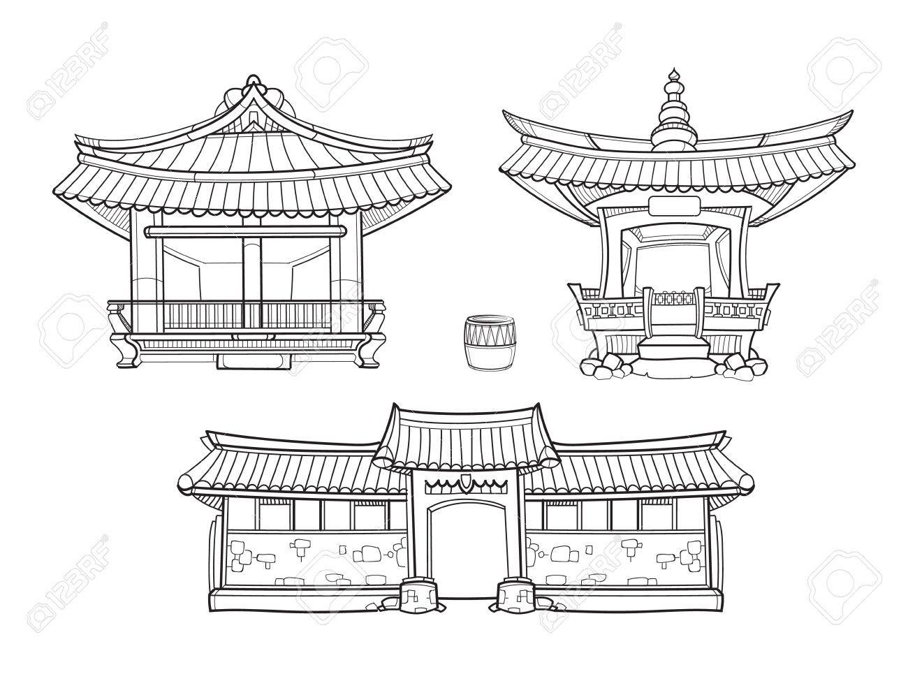 Resultado de imagen para korean traditional architecture