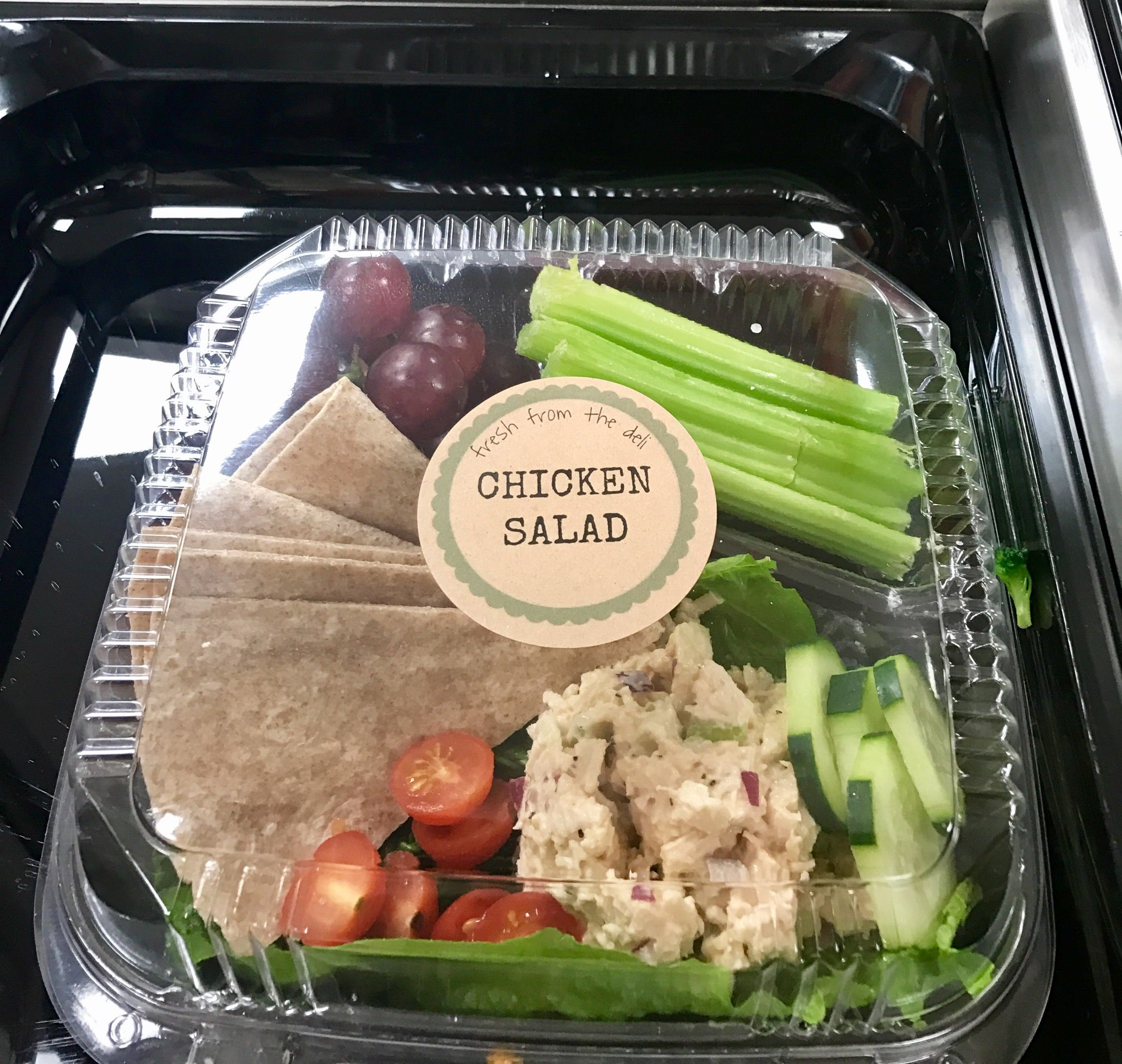 Chicken Salad Plate From Our Food Presentation For School Meals