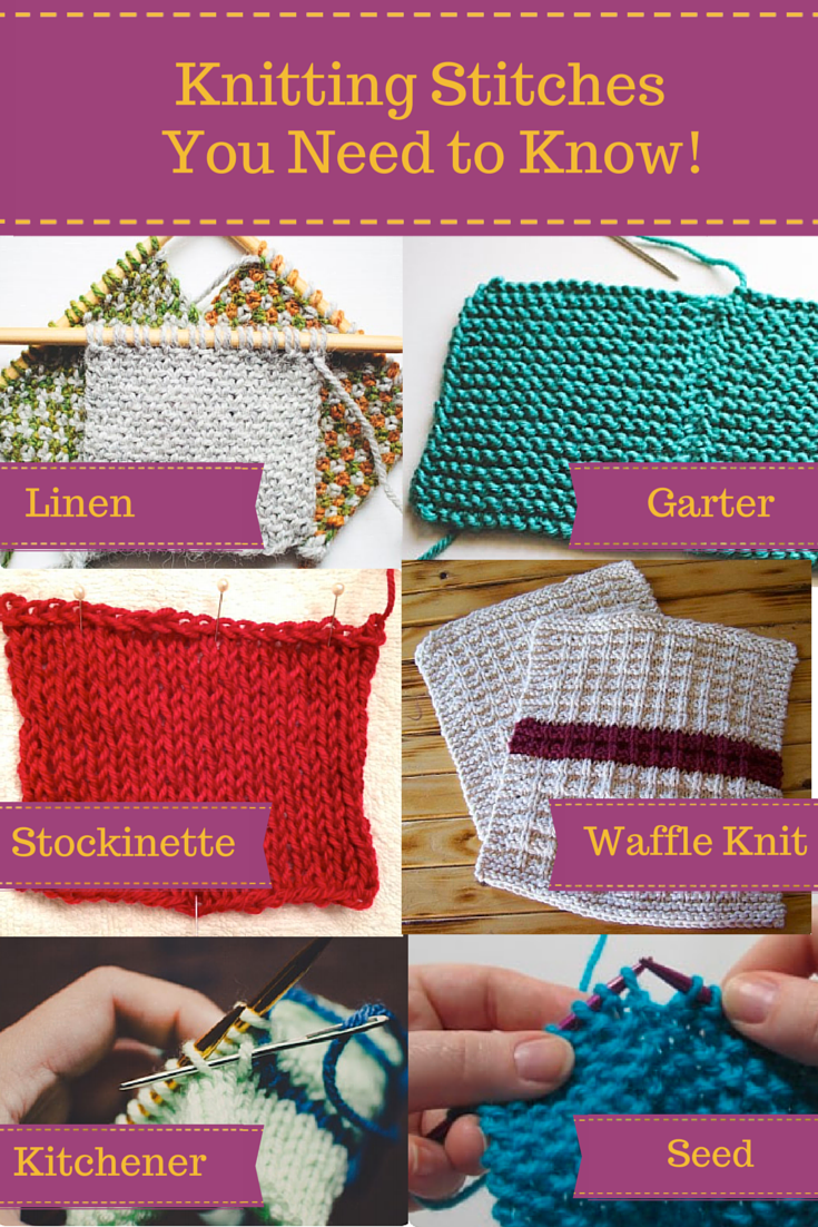 Basic Knitting Tutorial Pdf : Craftsy s quot knitting stitches you need to know free pdf
