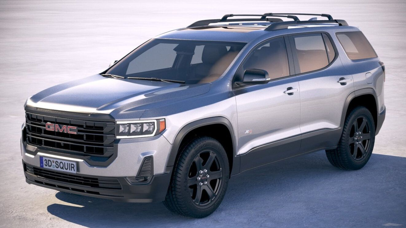 2021 Gmc Acadia Gets Mid Cycle Refresh What We Know So Far