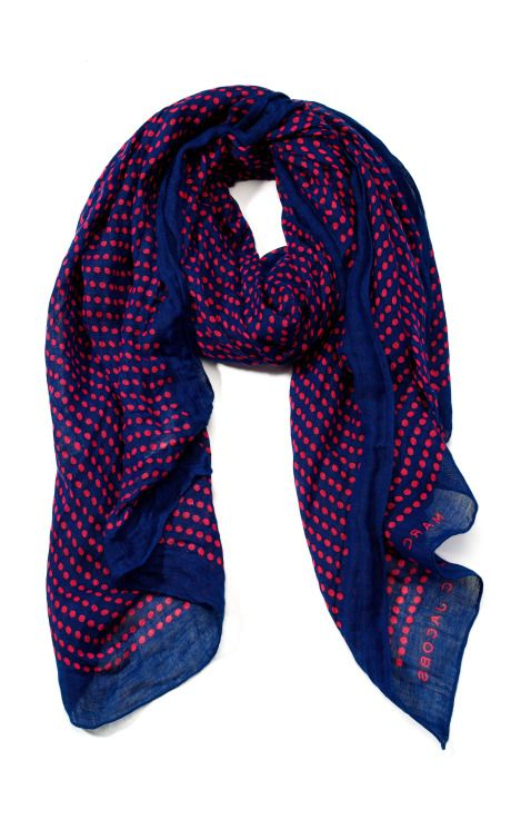 Marc by Marc Jacobs Accessories Isabella Dot Scarf SS 2013