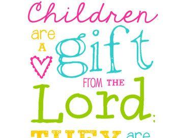 Bible Verses About Children 02 | Ink! | Pinterest