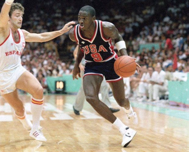 Michael Jordan's 1984 Olympic Shoes Just Sold For A Record