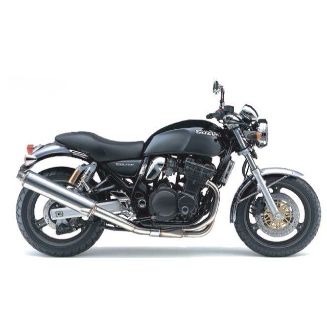 Suzuki Gsx750 Inazuma Custom Back Simple Modification Motorcycle