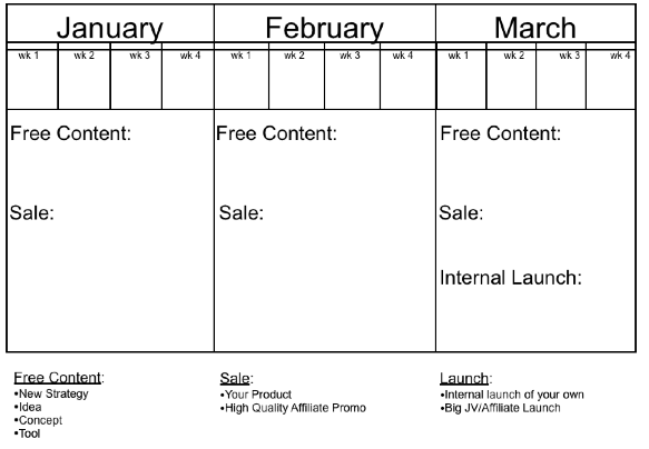 Sample Planning Calendar An In Depth Guide To Developing And Planning Your  Quarterly .