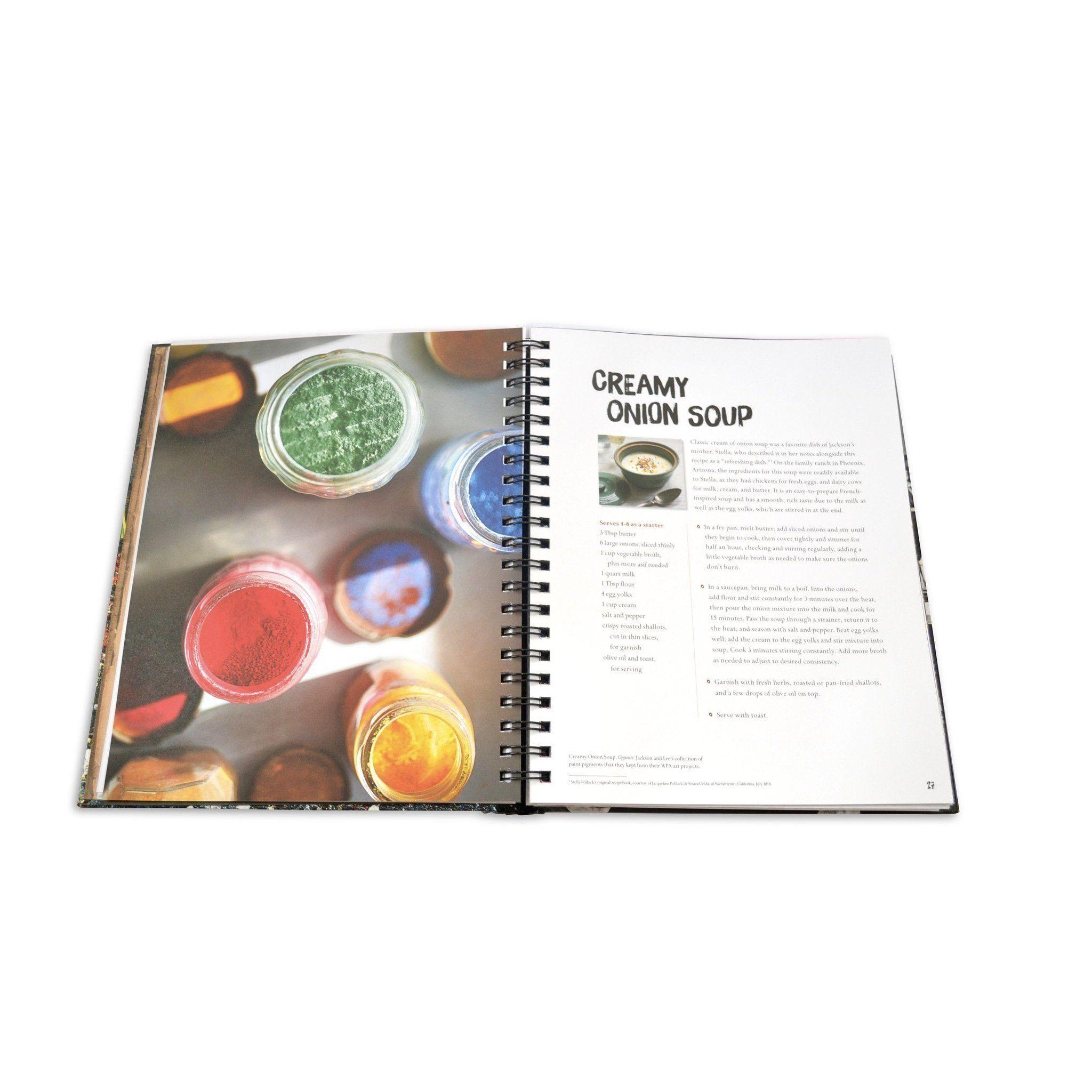 DINNER WITH JACKSON POLLOCK: RECIPES, ART & NATURE