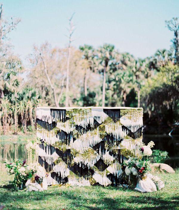 Amazing Wedding Backdrops: 17 Creative Ideas to Inspire   Ceremony ...