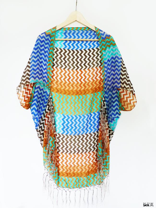 Mundo Artesanal: Kimono feito de Lenço - DIY (Passo a Passo ...