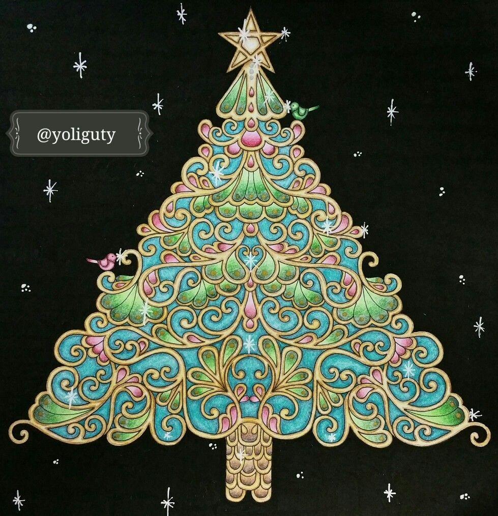 Pin by Nicole Poh on Johanna Basford Christmas   Pinterest   Johanna ...