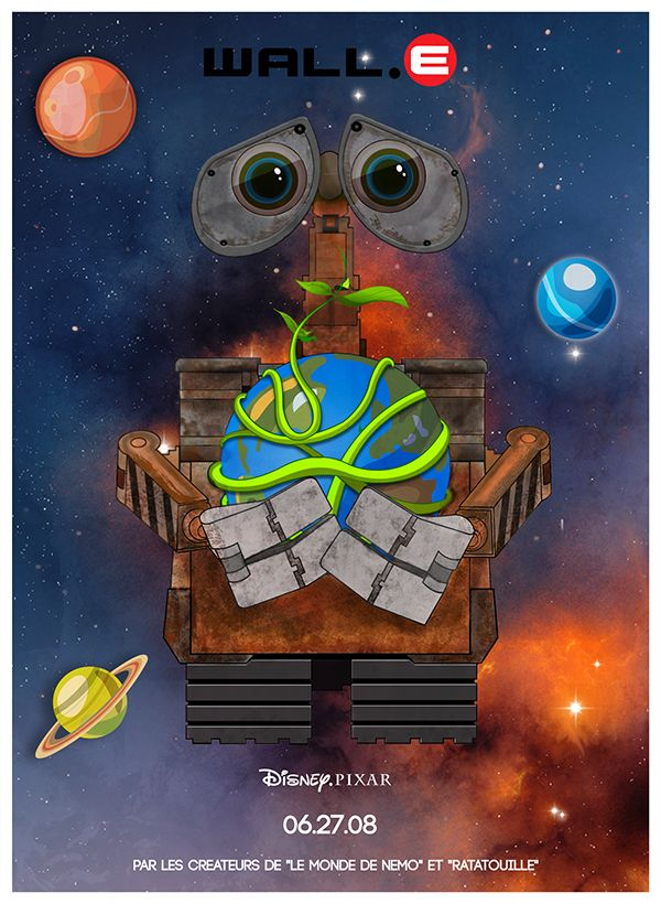 Wall.E Poster on Behance
