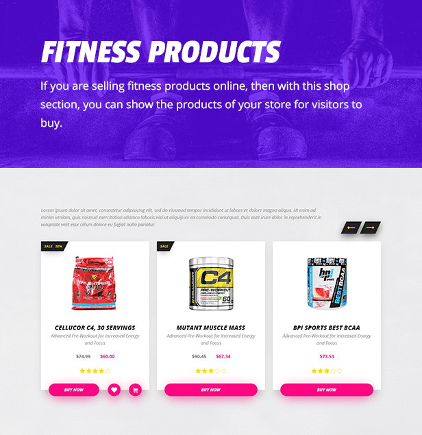 Fitness Point Gym Fitness And Sports Club Responsive Html Template Gym Sports Fitness Point Sports Clubs Fitness Websites Personal Gym