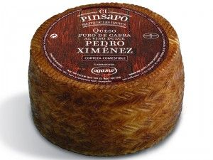 Cheese with sweet wine flavour! Queso al Pedro Ximenez (vino dulce) x