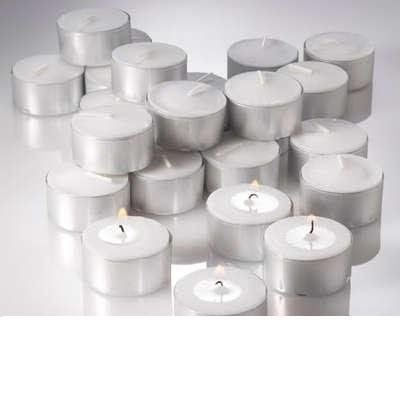 Tealight Candles Extended 7 Hour Burn Lot of 400 Bulk Tealight - bulk halloween decorations