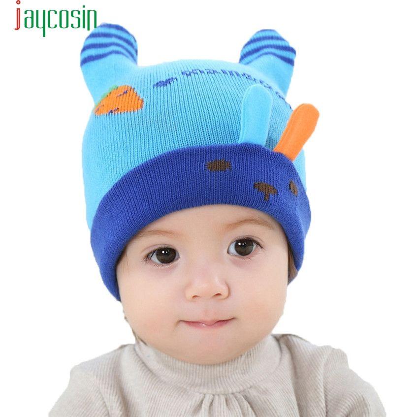 8433365e Click to Buy << Cute Baby Girl Boy Infant Winter Warm Knit Crochet Cap  Beanie Hat Feb08 #Affiliate
