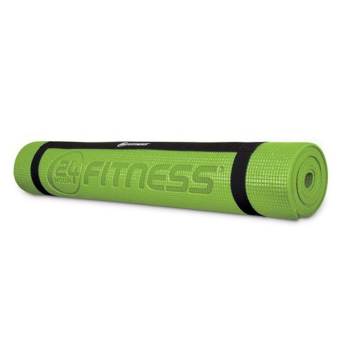 Wii 24 Hour Fitness Yoga Mat Green Video Games Amazon