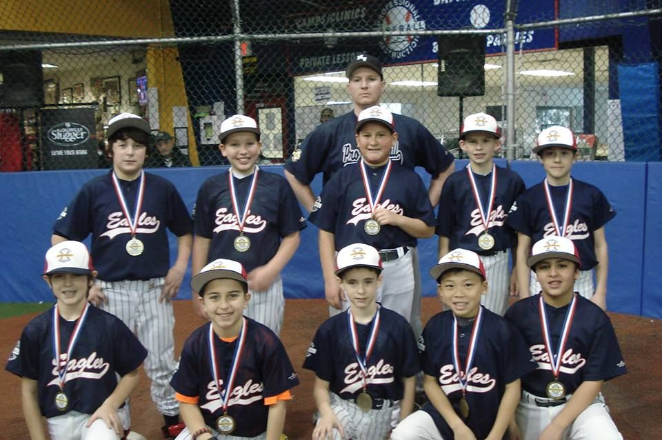 The 2013 14 Pbi Indoor League 11 12u Division Champions January 2014 Baseball League League Champion