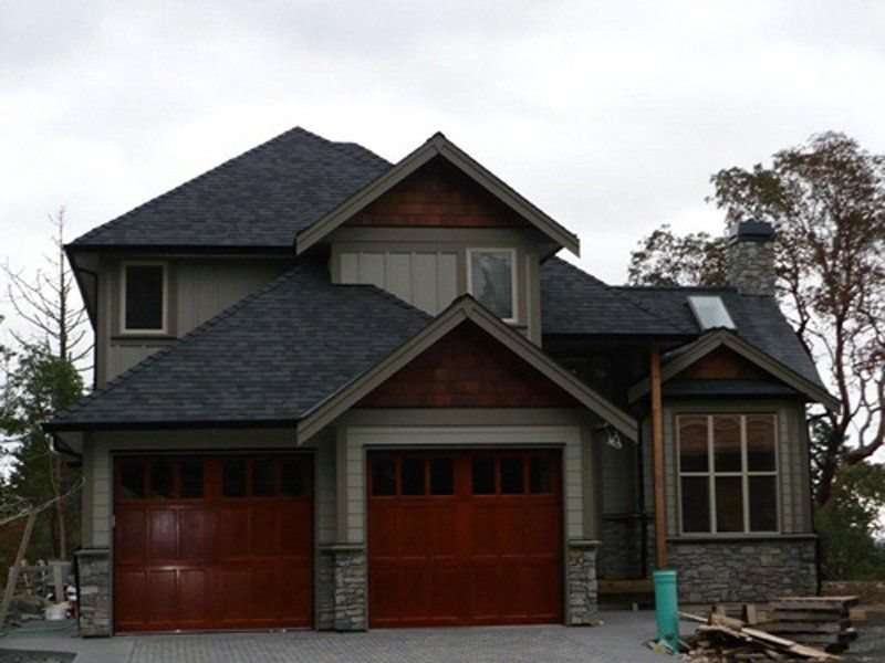 Best Like The Mid Tone House Color With Dark Accent Around 400 x 300