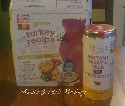 #PetLovers Check out our #Review of @honestkitchen Grace Dehydrated Cat Food and Pro Bloom Dry Goat's Milk w/Probiotic! #cat #dog #pet