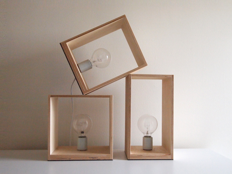 stackable lamps #DIY