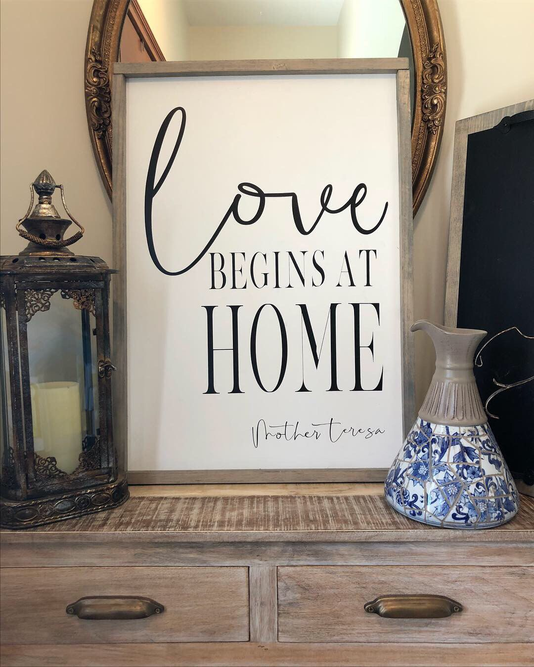Wood sign painted wood sign housewarming gift  home decor