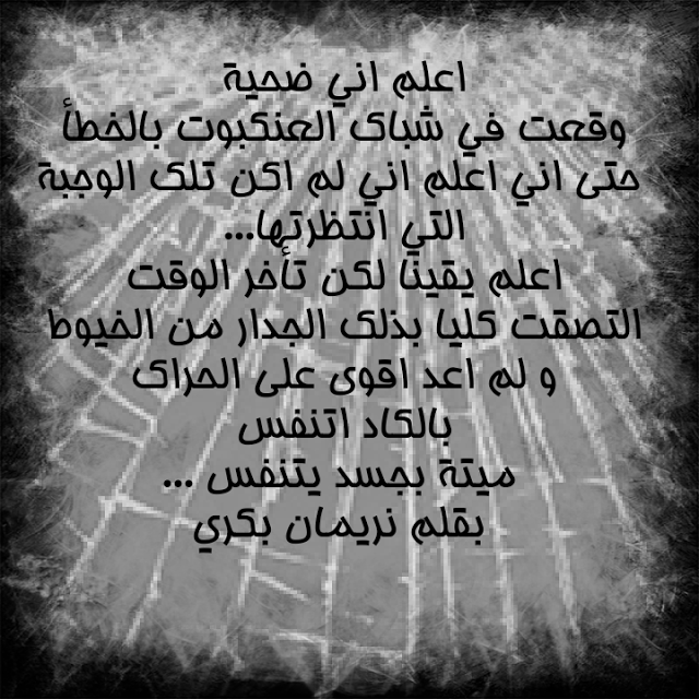 خواطر نريمان العنكبوت Blog Posts Post Blog