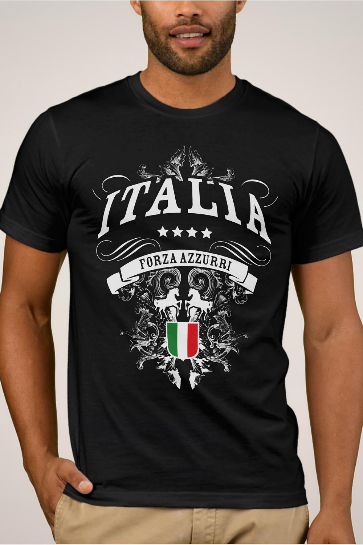 "Woman /"" Man T-SHIRT Nazionale Italia /"" FORZA AZZURRI"