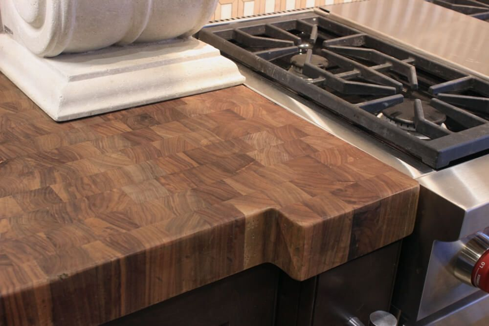 Sealer Options J Aaron Walnut Butcher Block
