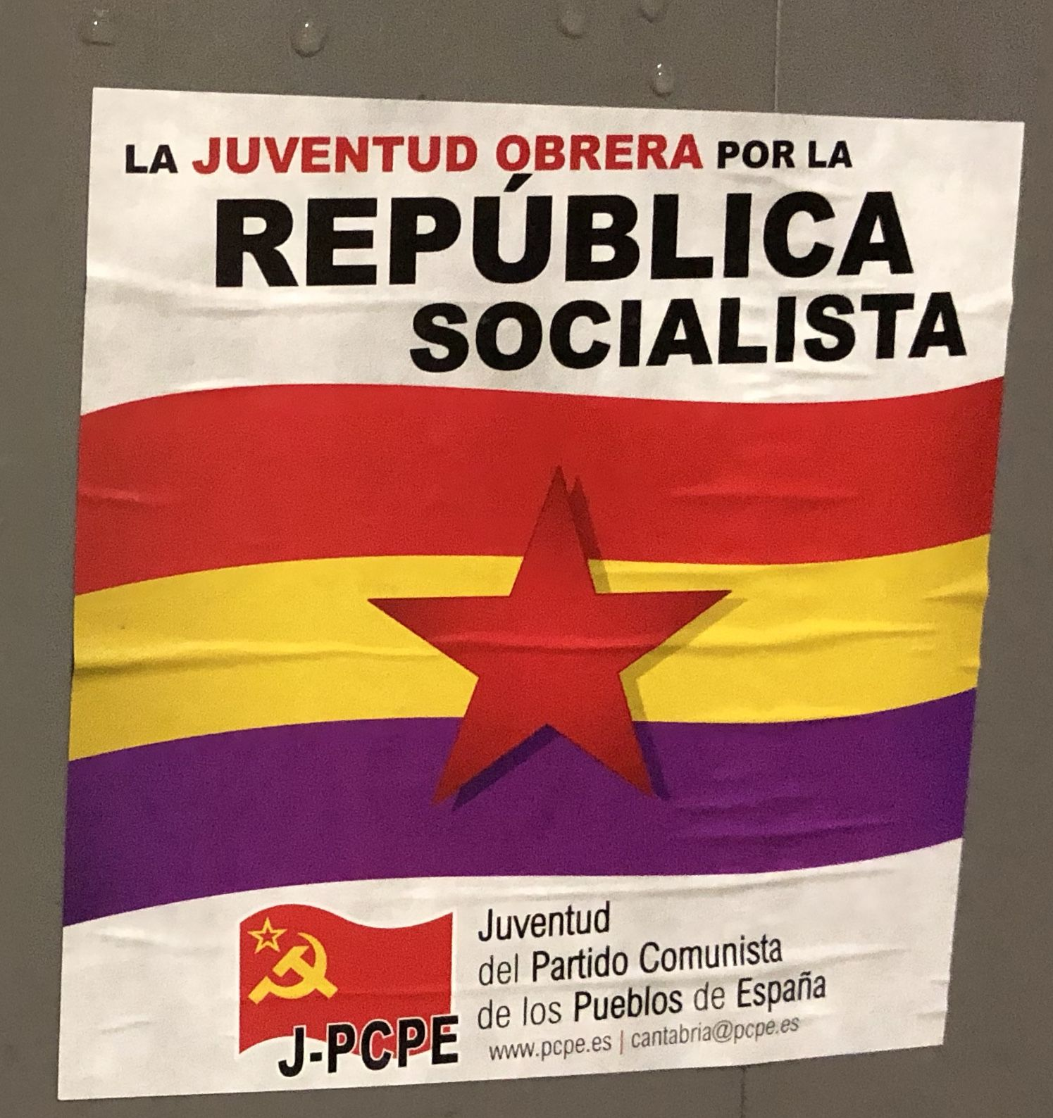 In Spain It Is More Like A Two Dozen Party System Vs A Two Party One Including The Spanish Communist Party Travelogue Travel Around The World Santander
