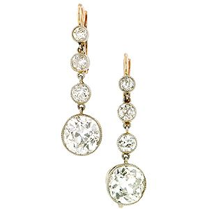 Because I need a pair of $25,000 Diamond earrings from the one and only Doyle & Doyle.