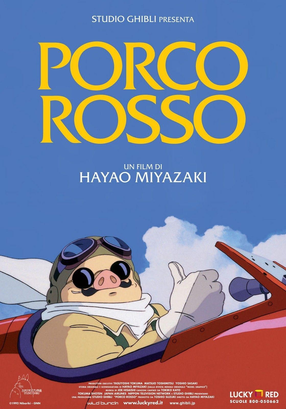 Porco Rosso Streaming Film E Serie Tv In Altadefinizione Hd Hayao Miyazaki Miyazaki Film