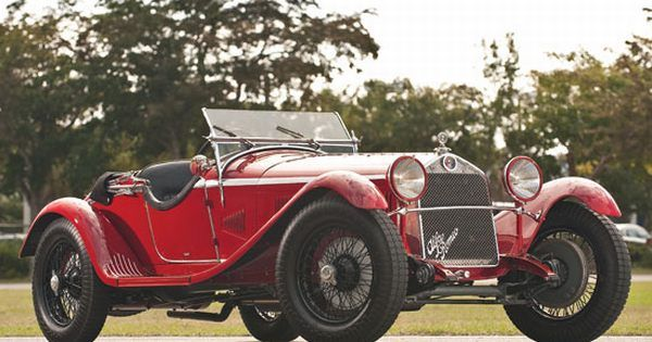1930 Alfa Romeo 6C 1750 GS Spider - $990,000