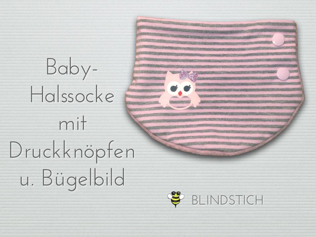 Halssocke Loop Baby Plotter Silhouette Cameo Eule Owl svg, BLINDSTICH