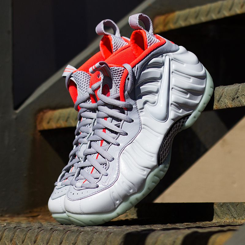 The Nike Air Foamposite One Pro PRM 'Platinum' is