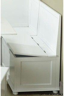 Breakfast Nook Lift-Top Storage Bench