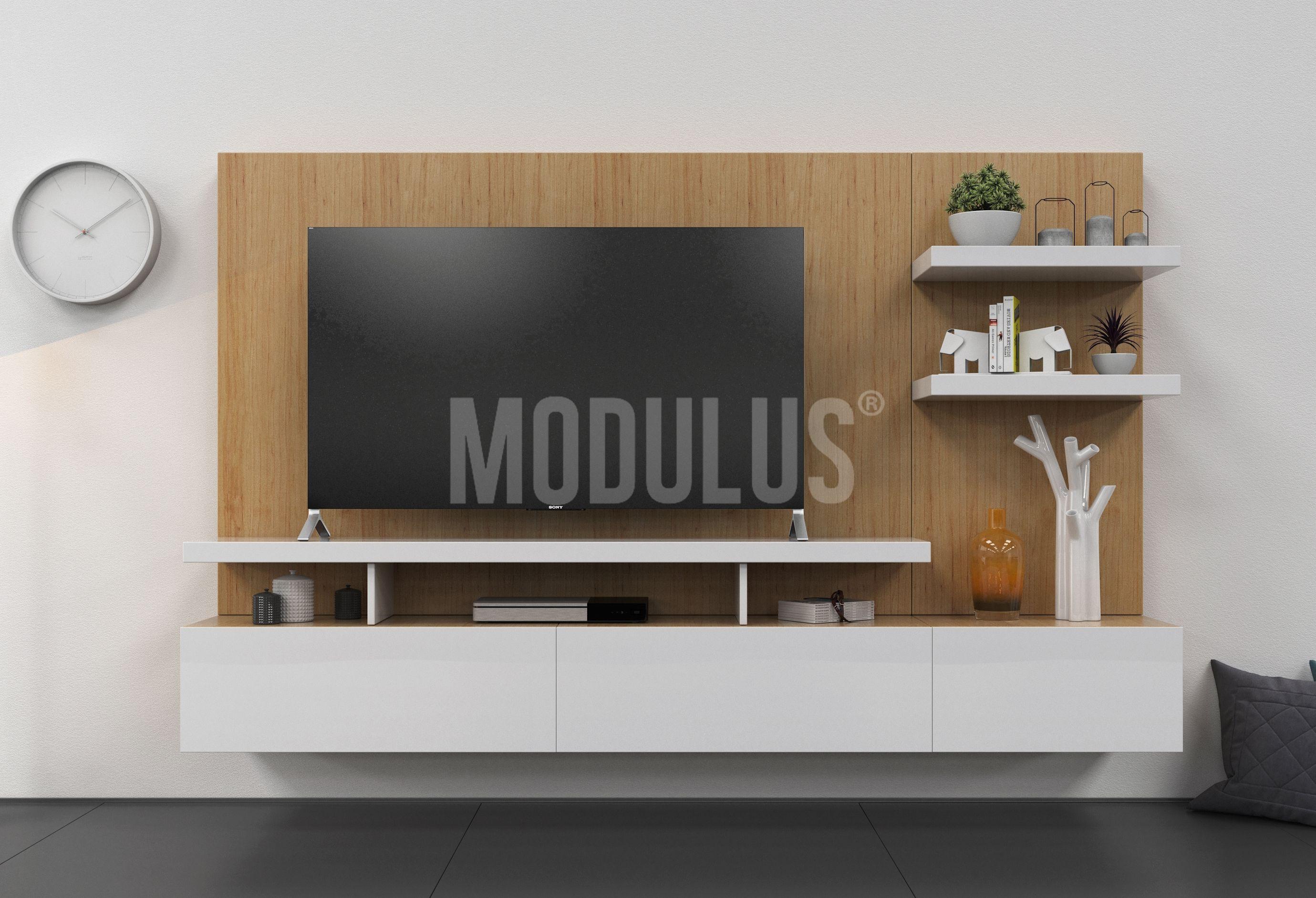 Sistema Mural 29 Combinada Decoracion De Sala Pinterest  # Muebles Murales