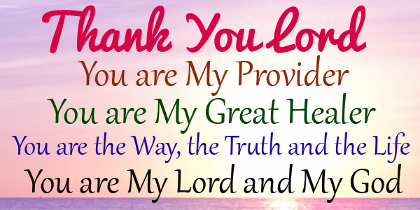 Thank You Lord For All The Blessings You Showered Upon Me And Upon