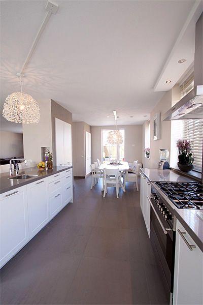 Inrichting en ontwerp keuken en woonkamer - Portfolio\'s ...