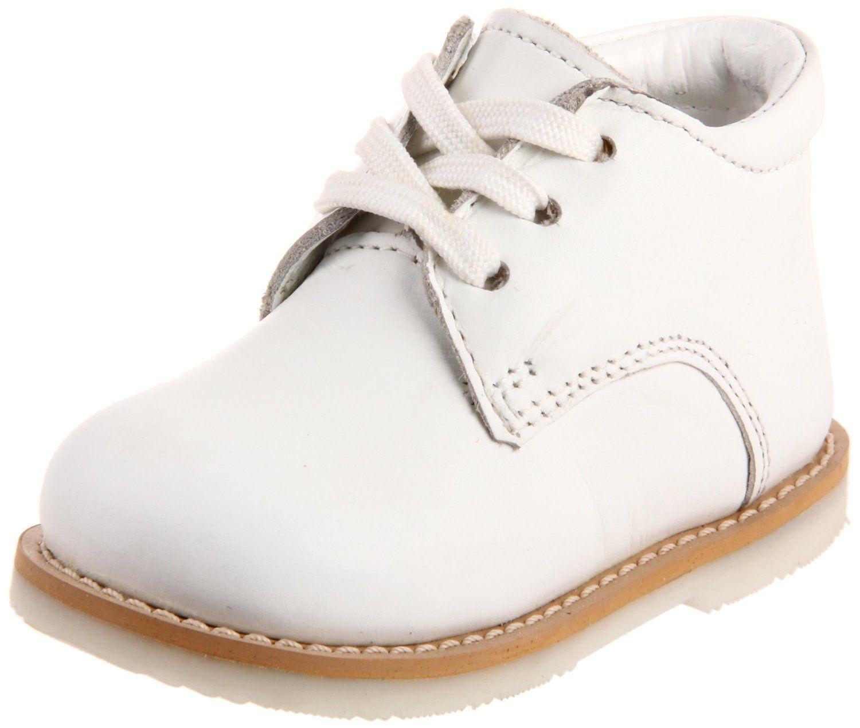 WHITE BUCKS (Smooth) Infant or Toddler Boys White Shoes  Boys